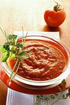 Receta de salsa, Receta de salsa de tomate, Salsa, Salsas, Tomates, Albahaca. Como hacer la salsa de tomates y albahaca casera, facil, rapida y sabrosa.
