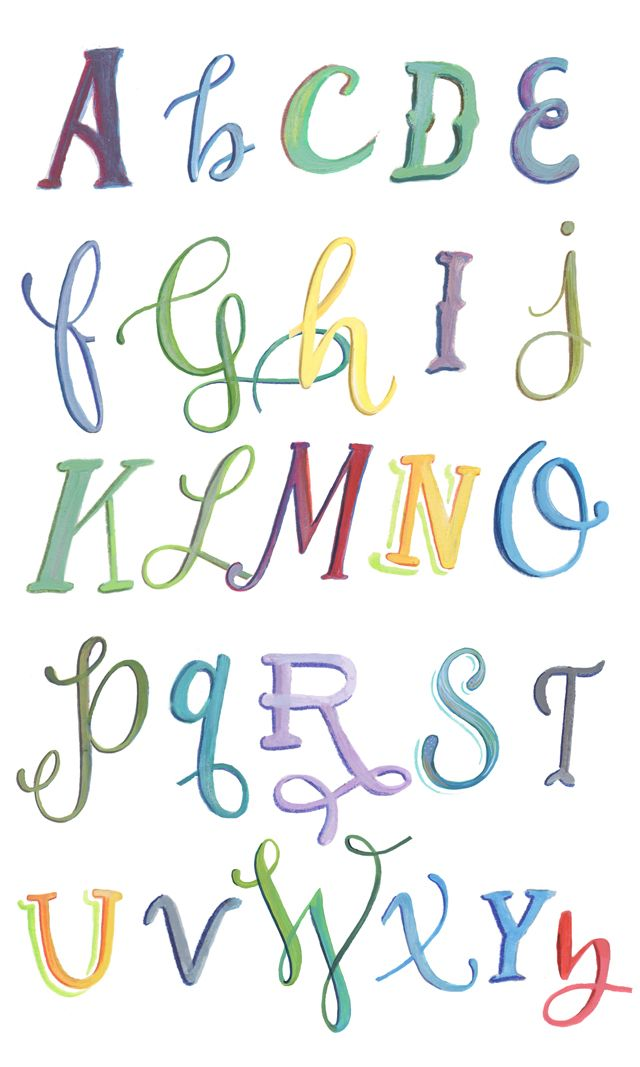 Alisaburke Lettering With Makewells Painting Letters