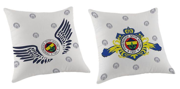 Taç Fenerbahçe Logo Kırlent | cazip geldi