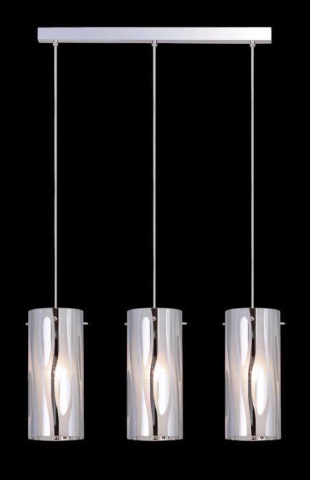 Lampa wisząca Triplet firmy Italux MDM1575/3CR