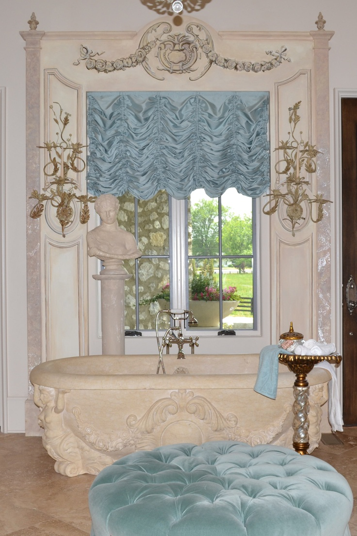 Sheer balloon curtains - This Beautiful Sheer Austrian Shade Was Created For A Client In South Carolina The Color
