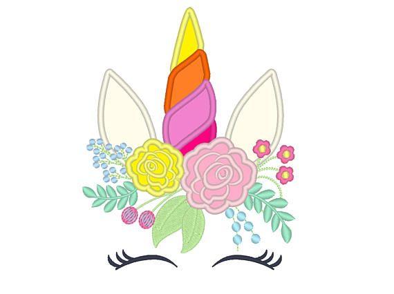 38 best unicorn rainbow Embroidery design images on Pinterest