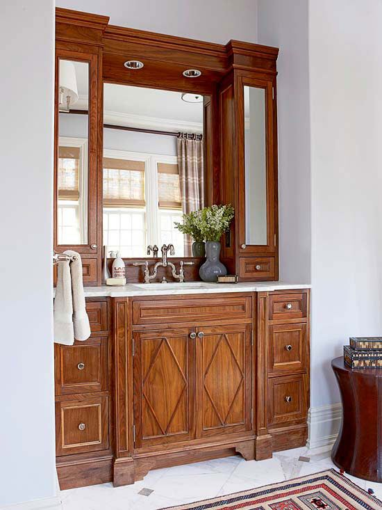 182 best images about sourcing for my house garden on pinterest traditional landscape lattice for Bathroom vanity upper cabinets