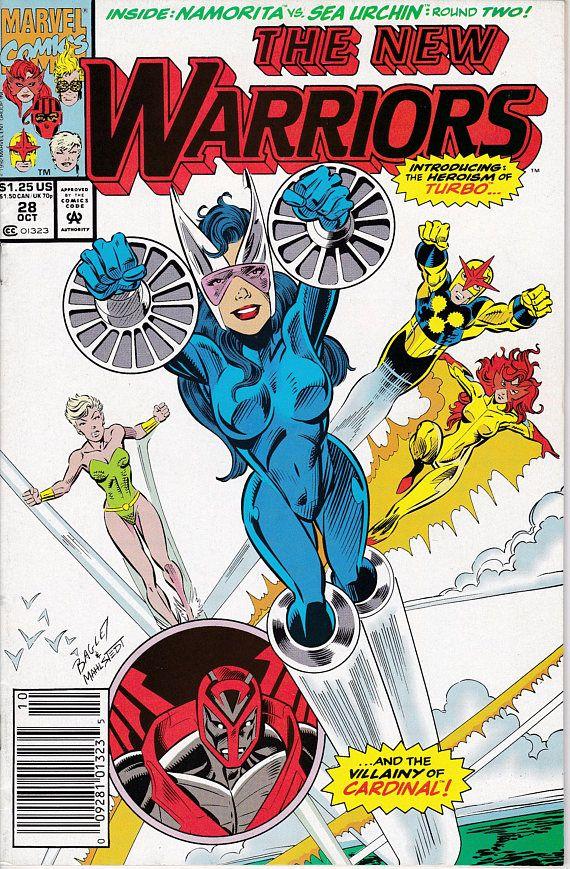 New Warriors 28 1990 1st Series October 1992  Marvel Comics