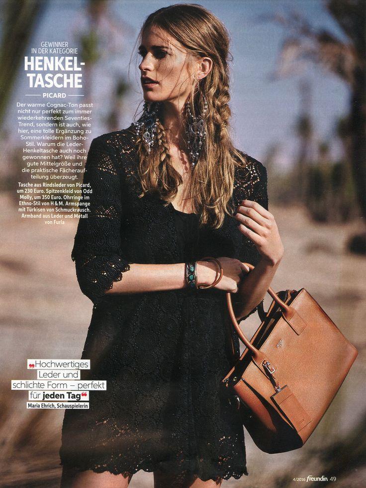 Odd Molly Dress in Freudian magazine Germany, Januari 2016