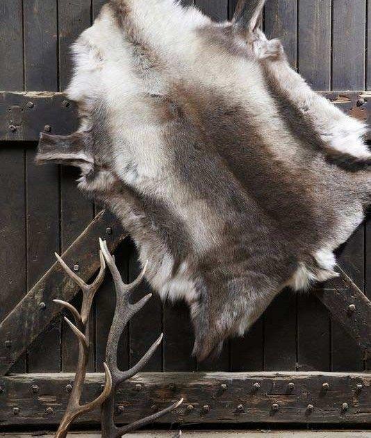 Natures Collection Finnish Dark Reindeer Hide