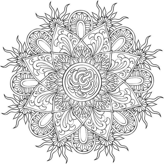 1001 Coole Mandalas Zum Ausdrucken Und Ausmalen Mandala Malen Anleitung Mandalas Zum Ausdrucken Muster Malvorlagen