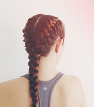 Boxer braid for active lifestyles