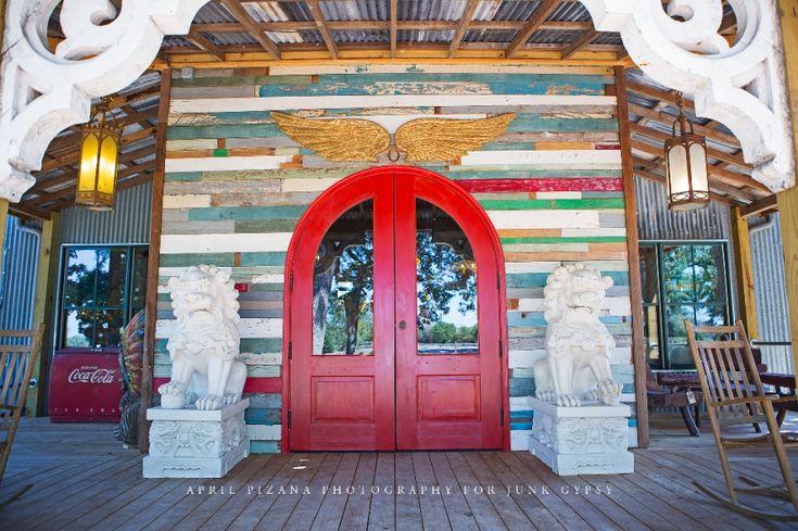 JUNK GYPSY front doors . . gateway to junk salvation! {junk gypsy co ~ april pizana photography}