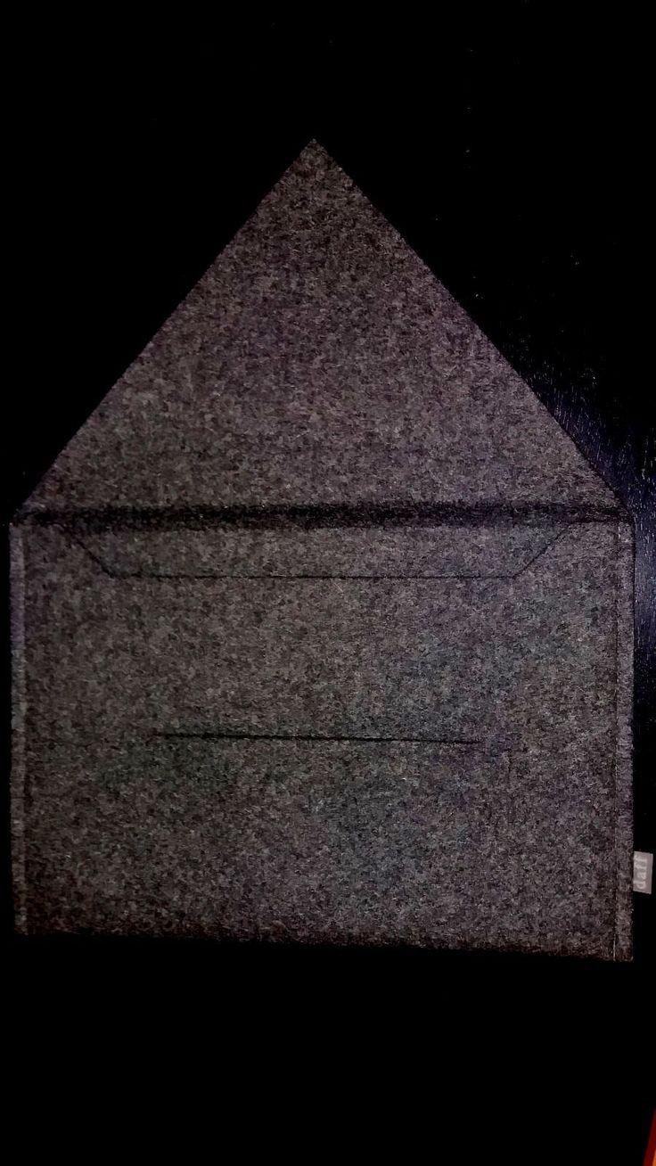 Orig. DAFF Filz Tasche Briefcase Dokumententasche Aktenmappe für A4 grau in Büro & Schreibwaren, Koffer, Taschen & Accessoires, Aktenmappen | eBay