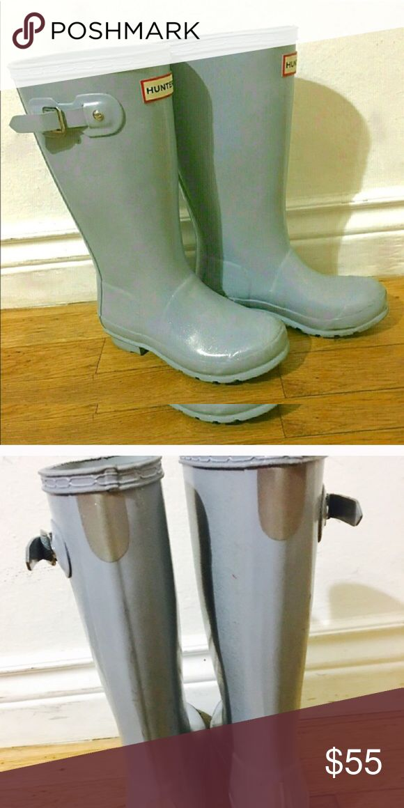 Girls Hunter boots Great life left, worn only a couple of times Hunter Boots Shoes Rain & Snow Boots