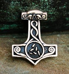 Jokkum - młot Thora z brązu • Onegdaj
