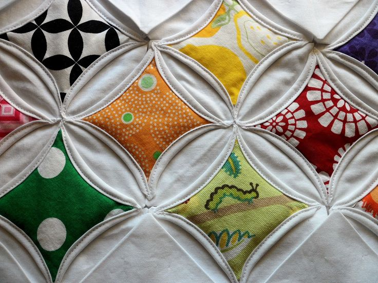 Searching for inspiration, I came across a Cathedral Window or Stained Glass Quilt. Originally, these quilts were made using muslin or cheesecloth creating ...