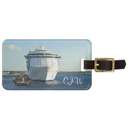 Independence in Cozumel Personalized Luggage Tag - monogram gifts unique custom diy personalize