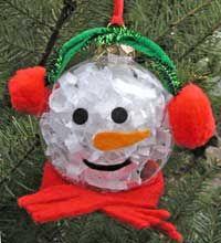 Snowman: Trees Ornaments, Snowman Ornaments, Christmas Crafts, Snowman Trees, Kids Crafts, Christmas Decor, Lasagna Recipes, Christmas Ornaments, Christmas Ideas