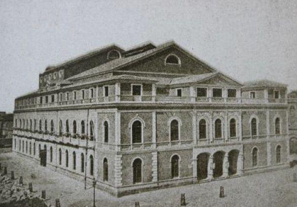 Teatro de los Infantes, actual Teatro Romea (Imagen: María Manzanera).