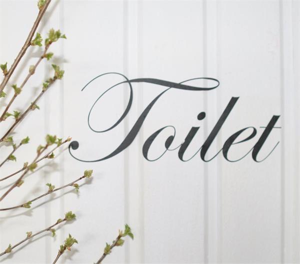 Nástěnná samolepka - Toilet | Bella Rose