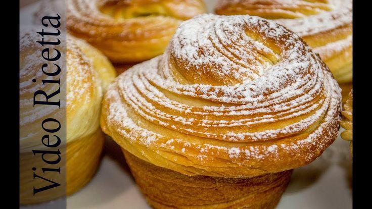 Cruffins - delizioso abbinamento tra croissant e muffin - fatto in casa ...