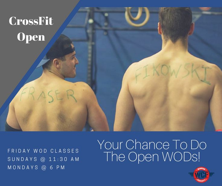 We cannot believe the CrossFit Open is almost over! How is there only one more week left!! With that said, if you haven't already completed a WOD of the Open then now is your chance!  Check out our Open WOD times to see when your chance is to do the Open WODs!  👇🙌👇
