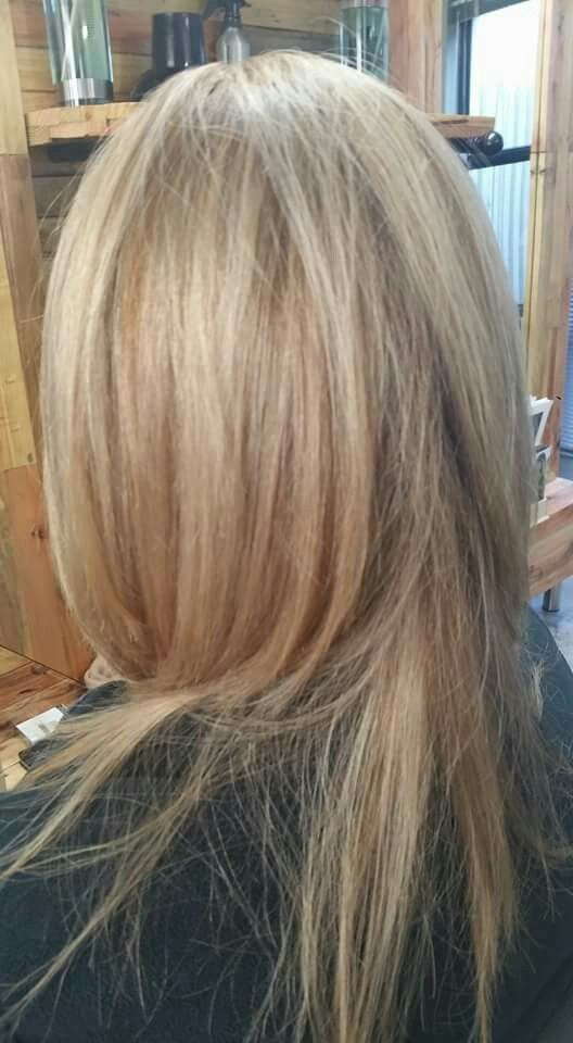 Sandstone Hair Color Trend A Beautiful Blend Of Wheat