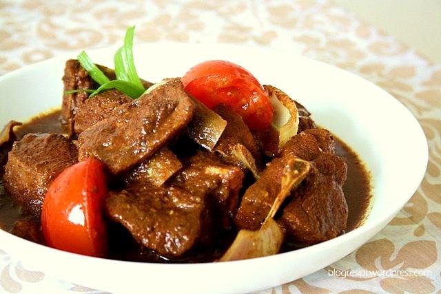 nasi tomato & kambing masak hitam | yummeh malay food! | Pinterest ...
