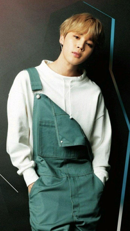 He looks good in overalls | ChimChim in 2019 | Jimin, Bts, Bts jimin