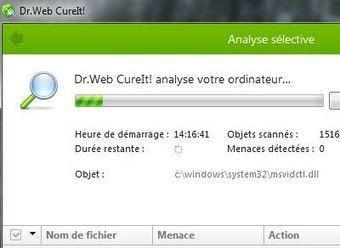Un antivirus gratuit sur clé USB à installer d'urgence : Dr. Web CureIT