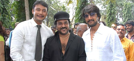 Trio Take Up - V Ravichandran - Kannada Movie News