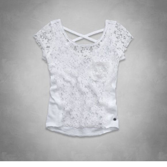 Mint lace Abercrombie kids fashion top Super flattering! Worn once! Children's Abercrombie. Abercrombie kids Tops