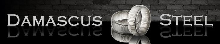 Damascus Steel Ring, USA Custom Made Hand Finished Damascus Band  #Handmade #Statement