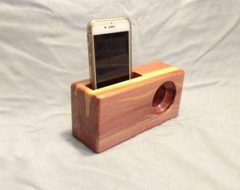 Wood Speaker/Smartphone Amplifier