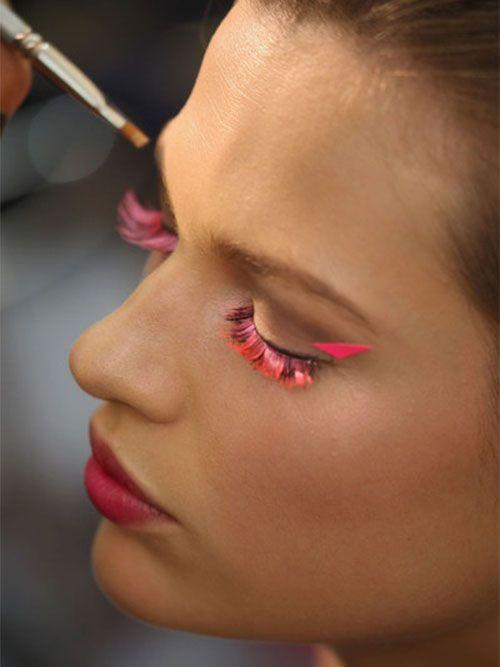 #veronikamaine #brightvintagefloral #inspiration #summer13 #makeup #eyes #pink