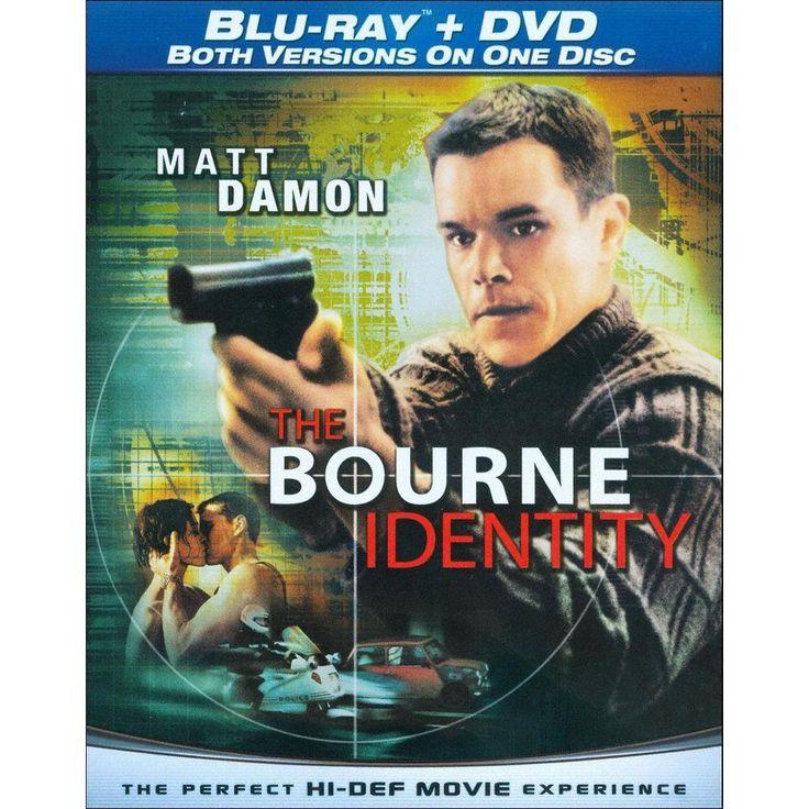 The Bourne Identity [Blu-ray/DVD]