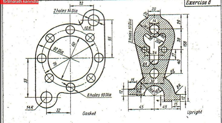 100 Advanced 2D Practice Diagrams Free Download ~ BHARATH