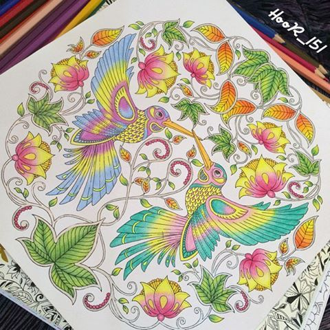 #تلويني #تلوين_كبار #coloringbook #colori #coloringforadults #imagimorphia #colorindolivrostop #bayan_boyan #creativelycoloring #animorphia #boracolorirtop #mycreativeescape #bayan_boyan