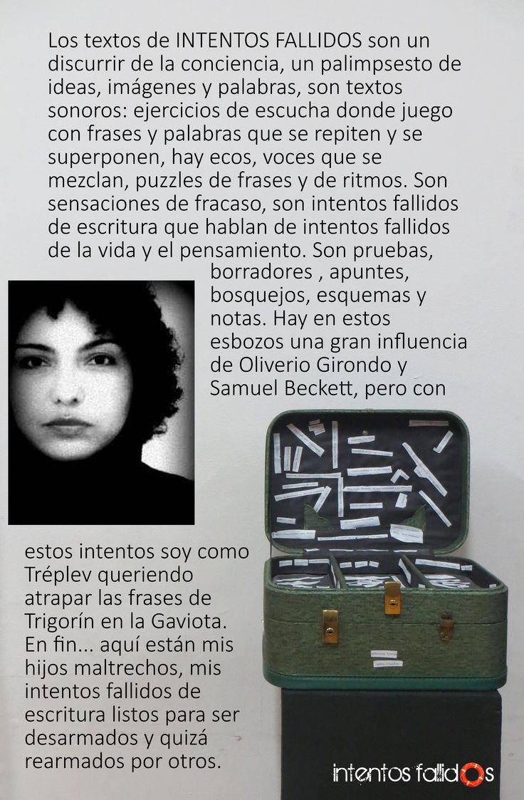 Katalina Moskowictz Directora de Teatro y docente en Intentos Fallidos
