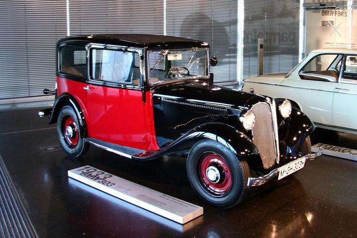BMW 303 - 1933   Bmw e9, Bmw, Cool cars
