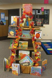 ladder library display