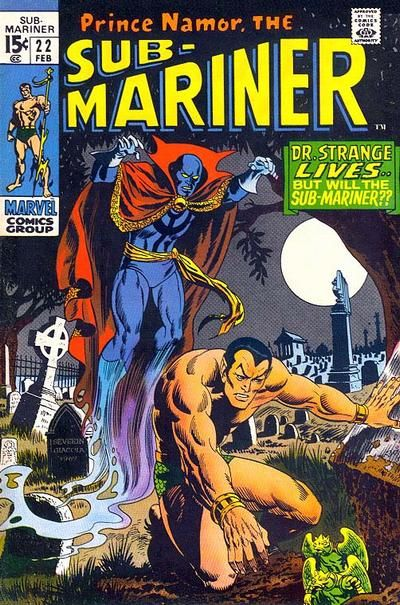 """This and the other two stories in what Comic Book Database calls """"Dr Strange Namor Hulk x-over"""" (because named arcs weren't the rage in 1970) are collected in """"Day of the Defenders"""" in 2001! Also written by Roy Thomas."""