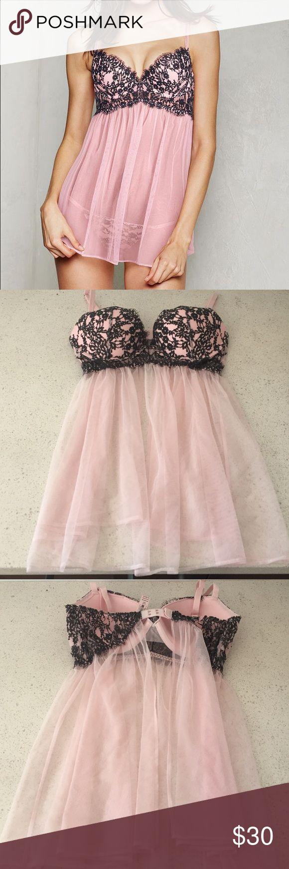 New! 36C VS babydoll lingerie Brand new! Victoria's Secret babydoll lingerie. Size 36C Victoria's Secret Intimates & Sleepwear