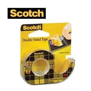 Scotch kaksipuoleinen teippi ja katkaisulaite - 3,90e