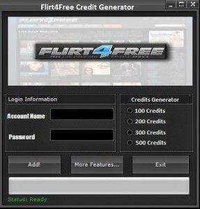 Flirt4Free Credit Generator download hack full. Free Flirt4Free Credit Generator keygen download 2016. Download Flirt4Free Credit Generator file generator online.