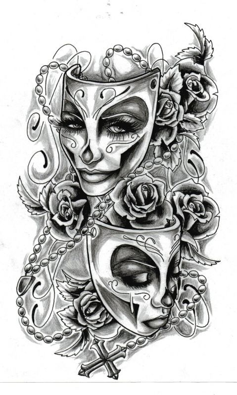 Great motive on tattoo