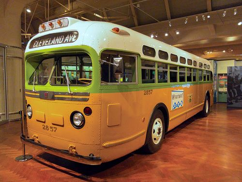Rosa Parks Bus Greenfield Village Dearborn Mi July