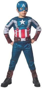 Marvel Deluxe Captain America Retro Winter Soldier Costume Child