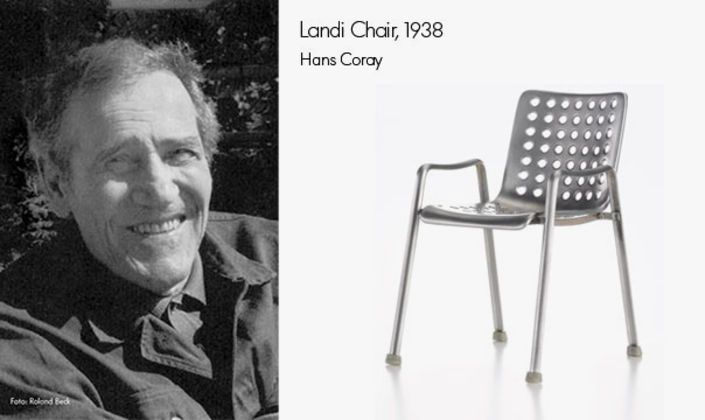 Just recently the famous 1938 Landi Chair by Hans Coray has bbeen re-issued.