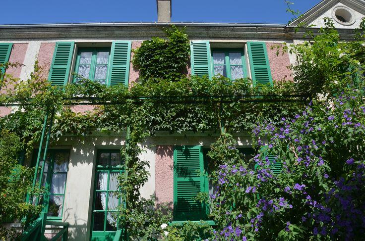 La maison de Monet à Giverny Photo Stéphane Morin