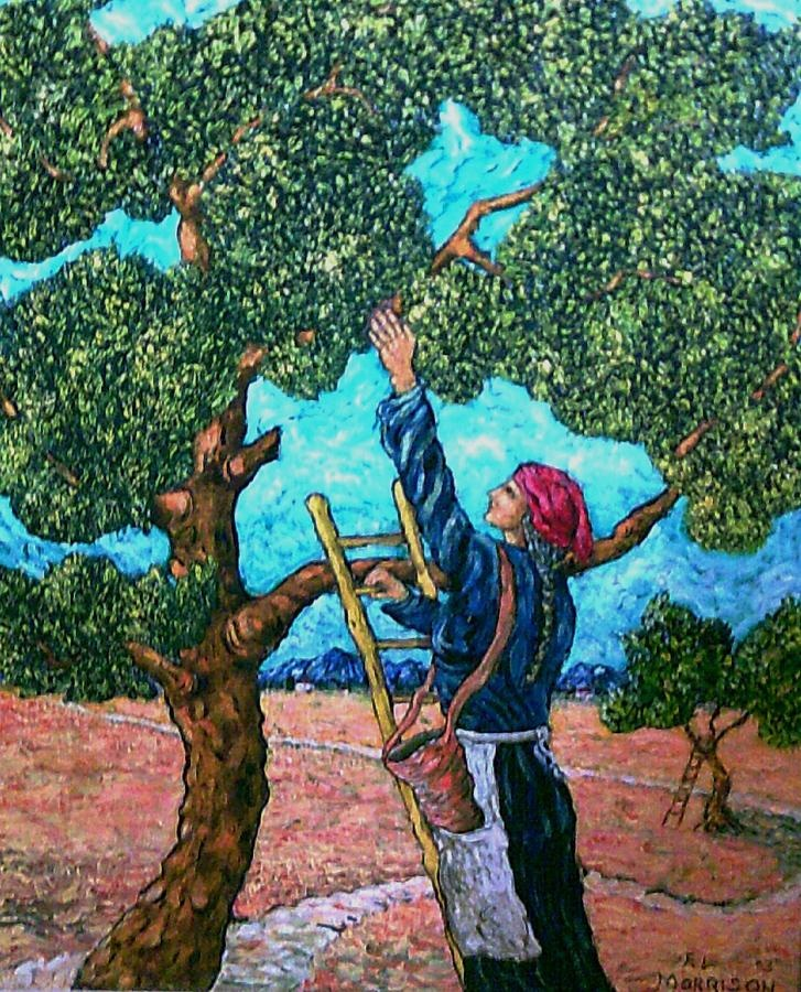 Olive picker Painting  - Morrison