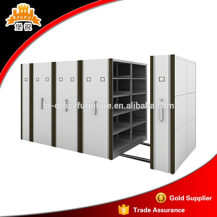 Steel Archives Mobile Shelving Office Used Metal Mobile Filing Cabinet
