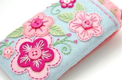 love the embroidery on the felt